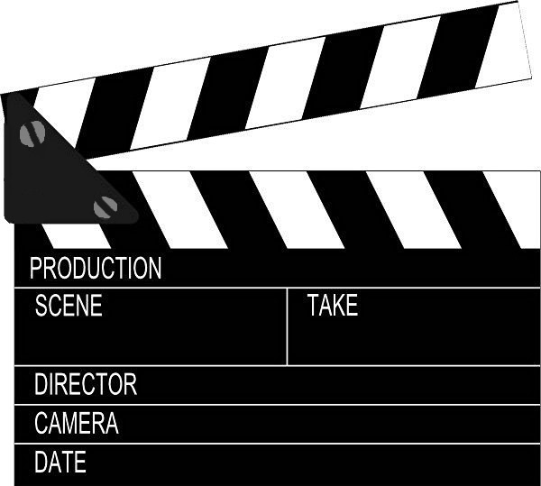 Film Clapper Board Movie
