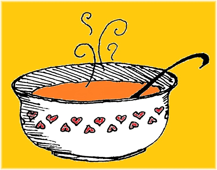 Draw-a-Soup Bowl