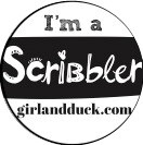 Scribbles Logo Jen Storer Girl and Duck 2020