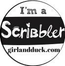 Scribbles Logo Jen Storer Girl and Duck 2020