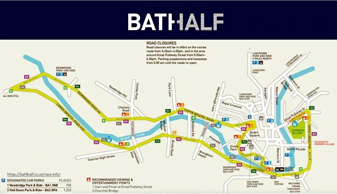 Bath Half Marathon August 2020 03