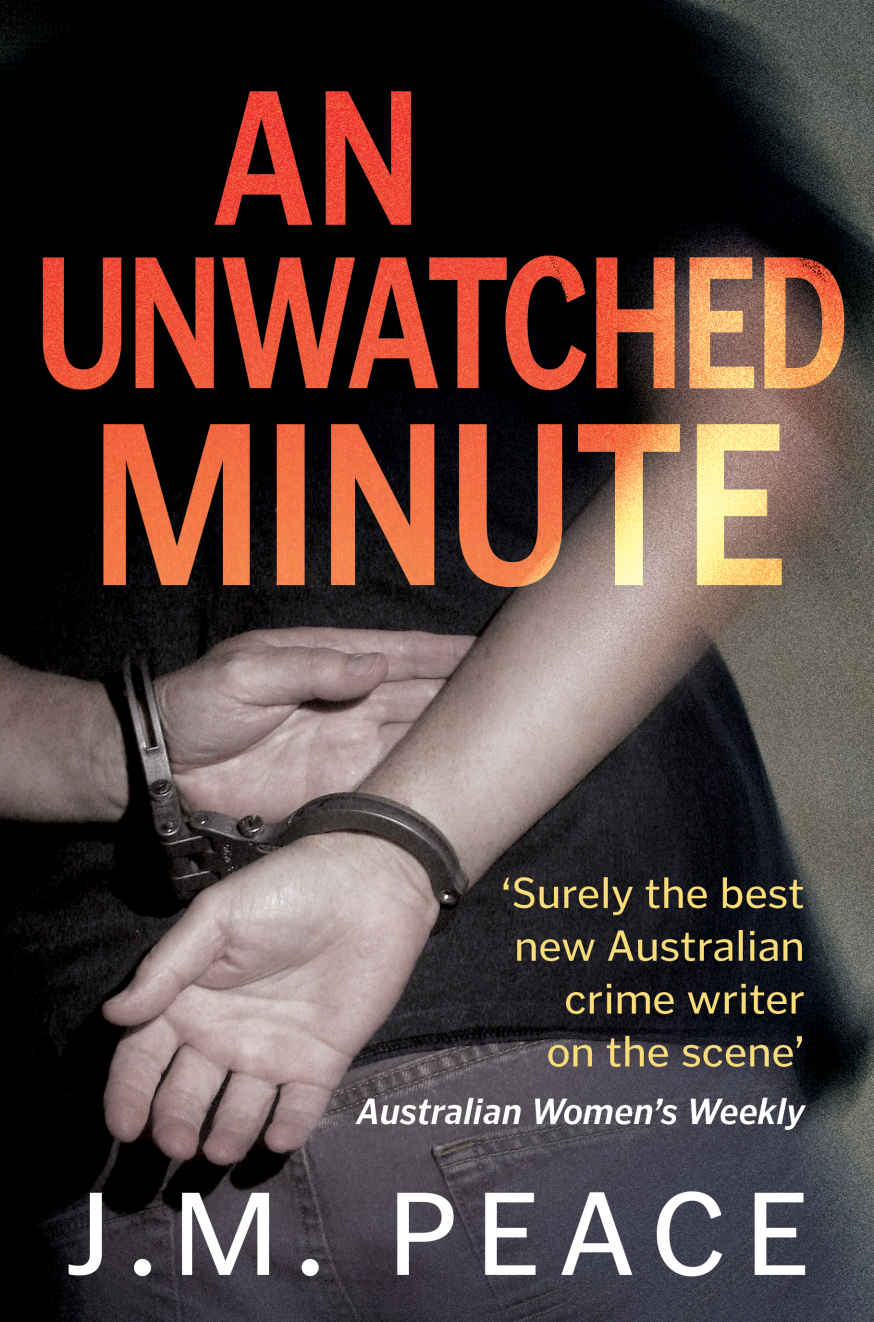 An Unwatched Minute Bookcover J M Peace